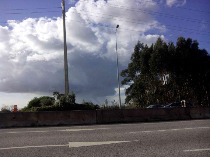 Funnel cloud em Cascais