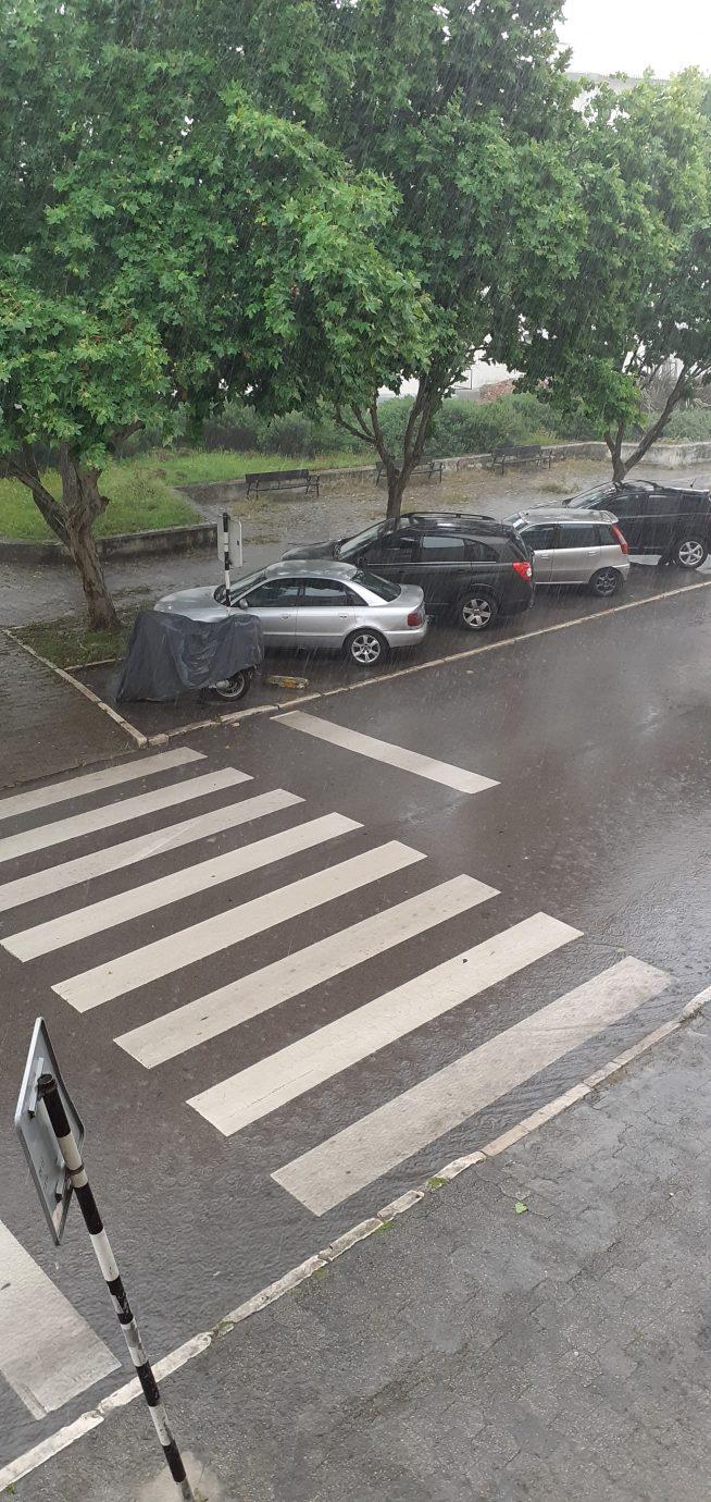 Chuva forte e trovoada
