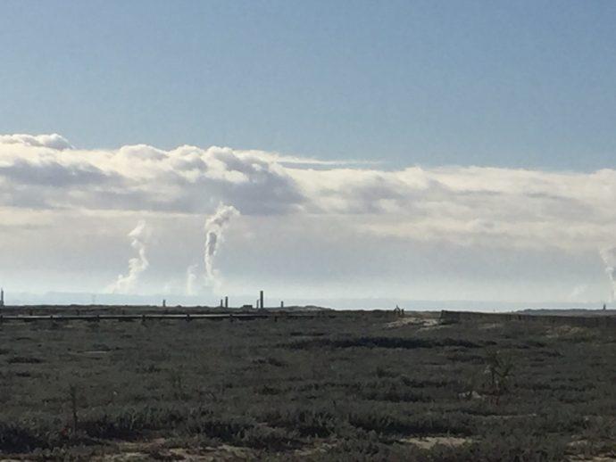 Inversão térmica dos gases libertados nas fábricas de celulose