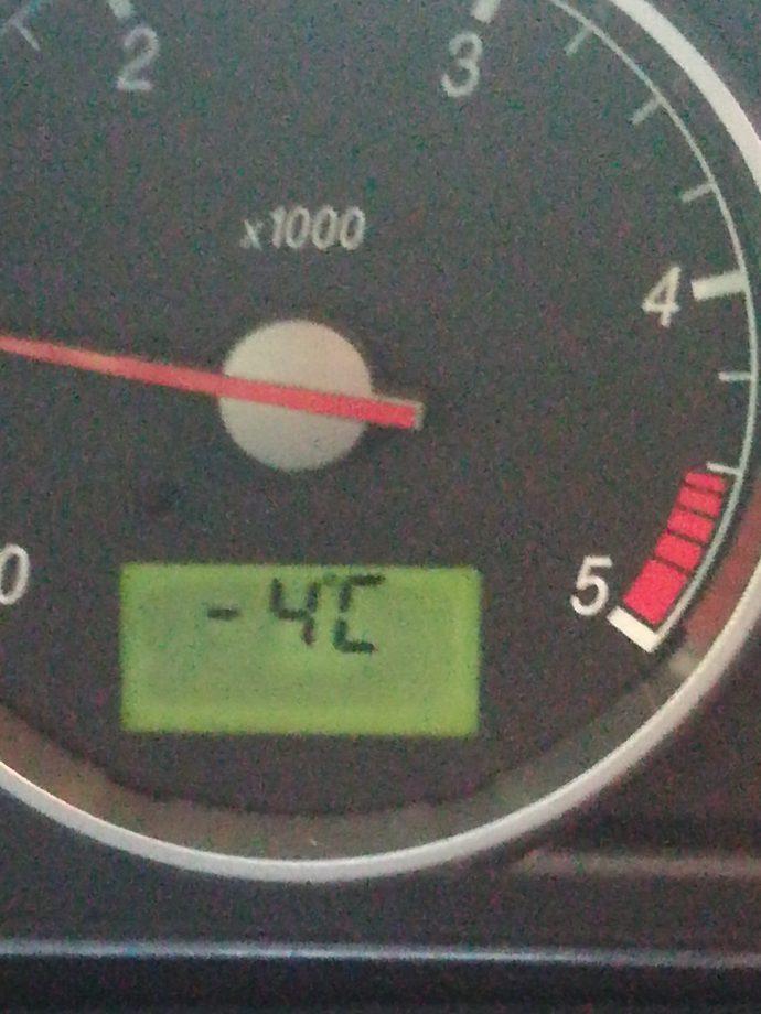 Temperatura - 4°C