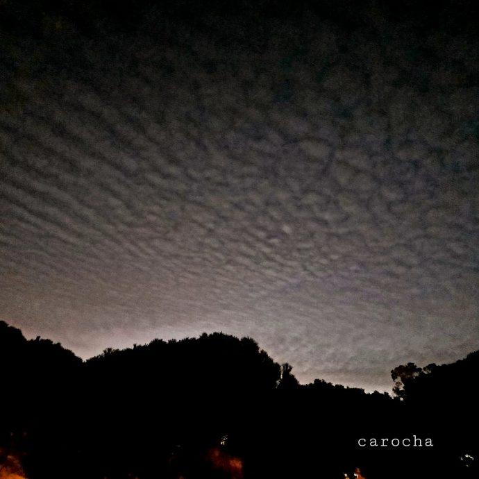 Nuvens Altocumulus